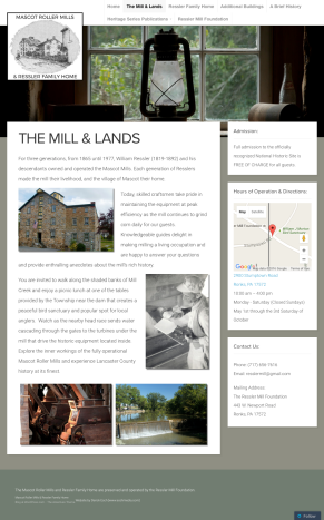 www.resslermill.com - The Ressler Mill Foundation